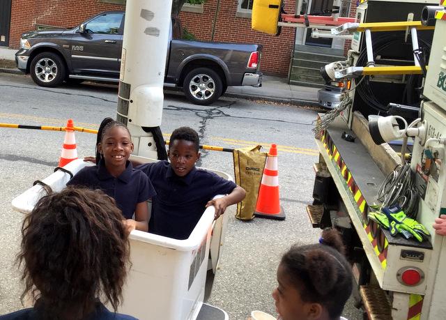 students-in-bucket