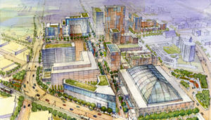 State Center rendering