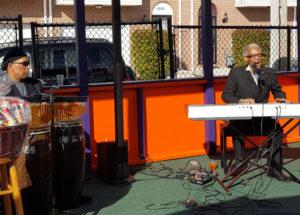 John Melton Westley on piano