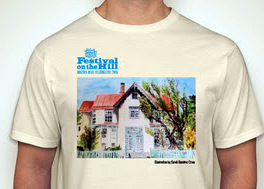 Festival T-shirts are back, and they're organic cotton this year.
