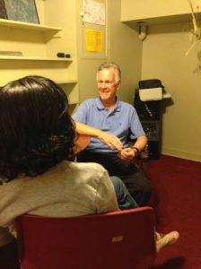 Samaritan Community counselor Bill Johnston helps people cope and overcome challenges.