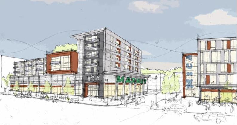 Madison Park North redevelopment rendering