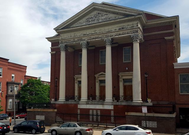Douglas Memorial Community Church, built in 1857 suffers neglect