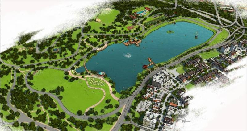 Druid Hill Reservoir Plan