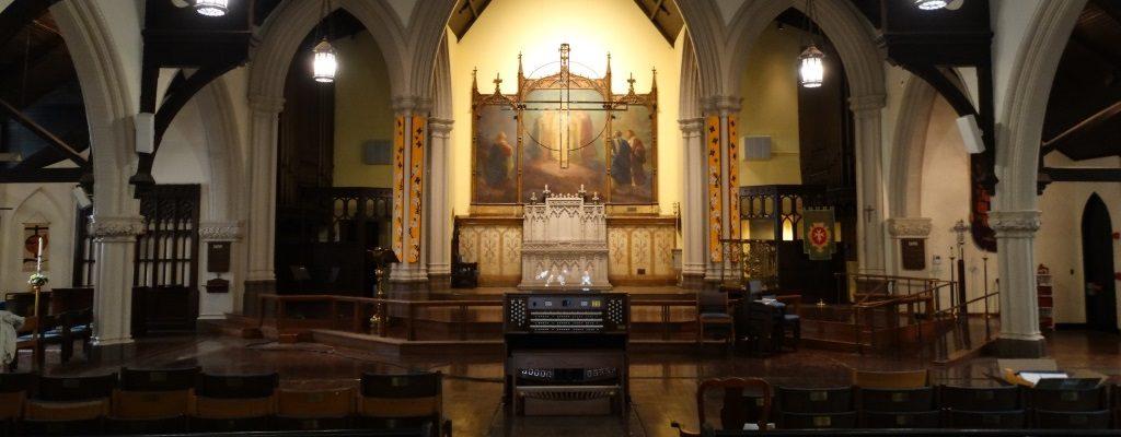 Memorial Episcopal interior