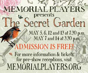 Secret Graden Poster, Memorial Players