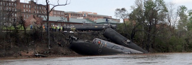Oil train derailment, Lynchburg, VA