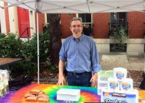 Steve Howard at the Samaritan's Table at the Festival