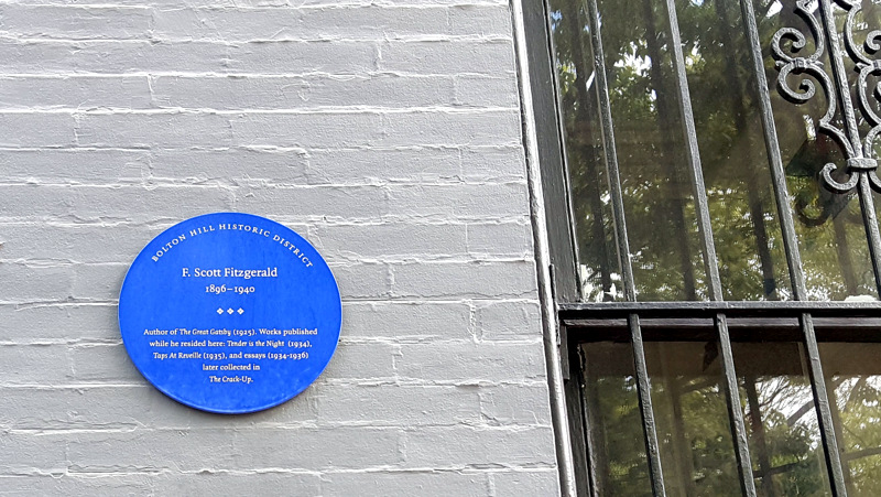Blue Plaque for Fitzgerald
