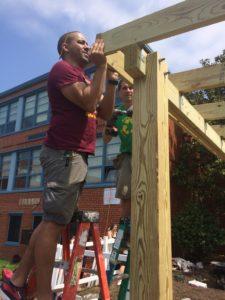Building the arbor