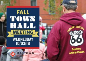 Midtown meeting 10/3/18